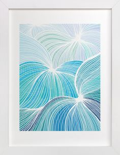 Flow by Gill Eggleston Design Ltd at minted.com