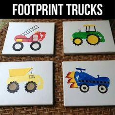 Foot print Trucks