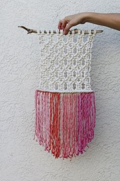 Update your favorite wall hanging with Rit Dye!