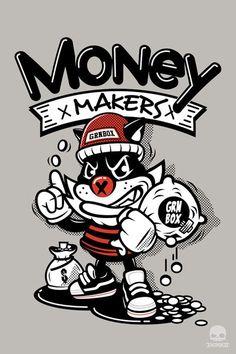 Money Makers by thinkd.deviantart.com on @deviantART