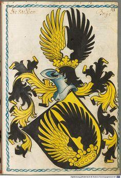 Scheibler'sches Wappenbuch Süddeutschland, um 1450 - 17. Jh. Cod.icon. 312 c  Folio 21