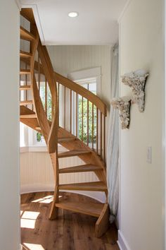 Space Saving Stairs Design Design Ideas, Pictures, Remodel, and Decor - page 5