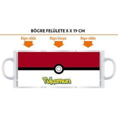 Ajándék Pokemon labda bögre névvel, vagy más felirattal