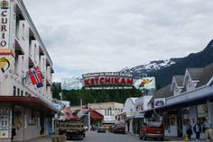 In downtown Ketchikan
