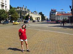 Sofia, Bulgaria.  The gold bricks were a wedding gift.