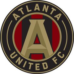 Atlanta United FC Primary Logo on Chris Creamer's Sports Logos Page - SportsLogos. A virtual museum of sports logos, uniforms and historical items. Soccer Flags, Mls Soccer, Football Soccer, Fifa, Atlanta United Fc, Atlanta Mls, Flags For Sale, Fc Bayern Munich, Major League Soccer
