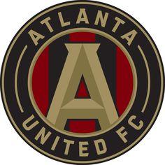 Atlanta United FC Primary Logo (2017) -