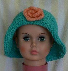 Child's Floppy Crochet Hat