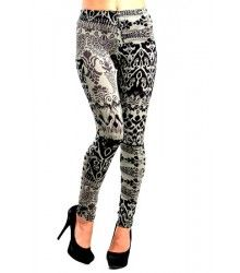 Vintage inspired? So are we! Check out our vintage green and black leggings at ovoloo.com