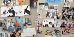 Love the idea of just a pin board for photos in the home