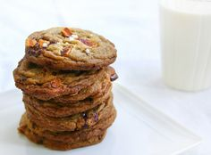 brown butter, bacon, cayenne, sea salt & dark chocolate cookies (make into an ice cream sandwich!)