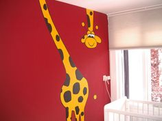 Muurschilderij | kamerbreed | acrylverf