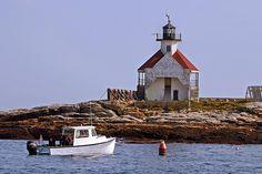 Cuckolds Light, Newagen, Maine