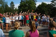 Nearly 2,000 people, representing more than 10 languages and cultures, gather twice each summer for International Day at the Concordia Language Villages. Last summer, the celebration was two-fold – it was the 50th anniversary of the Villages. #culture #language #immersion #CLV #cordmn