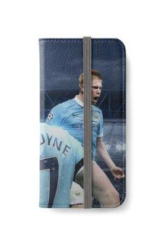 Kevin De Bruyne Art Iphone Wallet Case by bubuunn