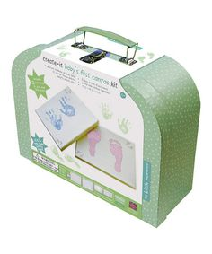 Love this Baby's First Canvas kit by The Little Experience on #zulily! #zulilyfinds