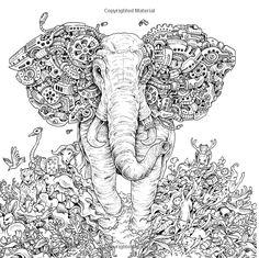 Imagimorphia: An Extreme Colouring and Search Challenge: Amazon.de: Kerby Rosanes: Fremdsprachige Bücher