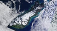 23 June 2015.  The South Island of NZ blanketed in snow on the coldest day of the year so far. Temps of -20 C were recorded in several areas.