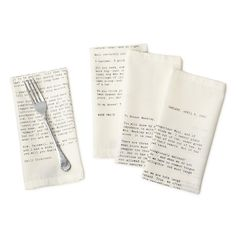 Love Letter Napkins
