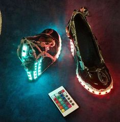 The Light up Steampunk Heels Will Transport Your Feet to 2057 #steampunk #victorian trendhunter.com