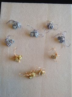 Wire Wrap Nest Earrings for Los Osos Physical Therapy Team. Thanks for all you do!
