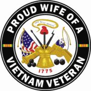 US Army Proud Wife of a Vietnam Veteran