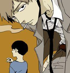 Shigeo y Reigen || Mob Psycho 100 [モブサイコ100] #manga
