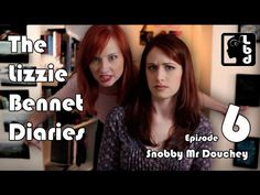 Snobby Mr. Douchey - Ep: 6 ... I just found this modern version of Elizabeth Bennett's diary... how much fun!