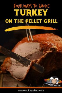 Making your Thanksgiving turkey on your pellet grill is the BEST way to make turkey and our pellets get the job done. Here are 4 different videos showcasing 4 different ways you can make turkey on your pellet grill. Roaster Oven Recipes, Pellet Grill Recipes, Pork Roast Recipes, Turkey Recipes, Oven Roasted Turkey, Grilled Turkey, Baked Turkey, Best Turkey Brine, Bbq Turkey