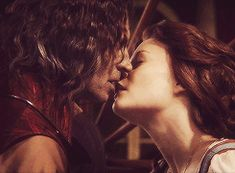 All of the kisses between Rumplestiltskin and Belle as of the fourth mid-season finale.
