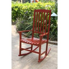 Alston Red Porch Rocker - Free Shipping Today - Overstock.com - 18412560