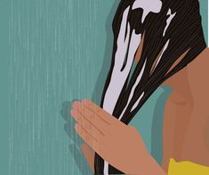 The Truth About Hair Loss Scared of combing your hair? Frightened by the amount of hair you see on the comb when you do? Beauty Illustration, Digital Illustration, Black Girl Art, Art Girl, Korean Beauty Tips, Postpartum Hair Loss, Bouncy Hair, Hair Secrets, Shower Routine
