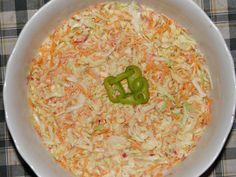 Karcsi főzdéje: Coleslaw - Amerikai káposztasaláta