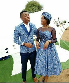 Newest Tswana Traditional Dresses for Bridesmaids - isishweshwe Source by dresses ideas Couples African Outfits, African Wear Dresses, Latest African Fashion Dresses, Setswana Traditional Dresses, South African Traditional Dresses, African Wedding Attire, African Attire, Xhosa Attire, Fashion Models