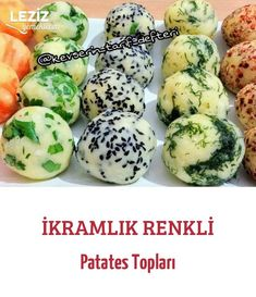 İkramlık Renkli Patates Topları potato al horno asadas fritas recetas diet diet plan diet recipes recipes Potato Recipe For Kids, Potato Balls Recipe, Potato Recipes, Best Salad Recipes, Healthy Recipes, Perfect Salad Recipe, Catering, Salad Ingredients, Crockpot Recipes