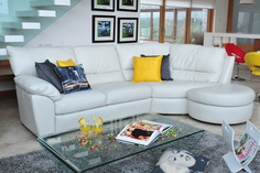Lagosta Leather Corner Sofa from Harvey Norman Ireland Leather Corner Sofa, Harvey Norman, Ireland, Couch, Photoshoot, Bedroom, Furniture, Collection, Home Decor