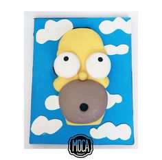 S Simpsons Cake, Tweety, Bakery, Parties, Kids, Fictional Characters, Food Cakes, Fiestas, Young Children