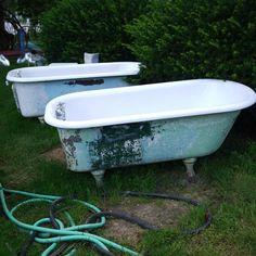 claw-paw antique bathtub