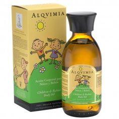 ALQVIMIA - Huile corporelle enfants et bébés