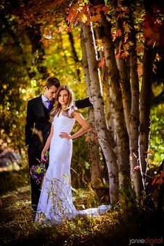 Fall wedding photography