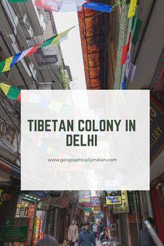 Geographically Indian: Tibetan Colony in Delhi: Majnu ka Tilla India And Pakistan, Delhi India, New Delhi, Great Buildings And Structures, Modern Buildings, Dubai Skyscraper, Havana Cuba, Buddhist Temple, Budapest Hungary