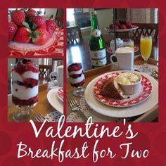 Valentine's Breakfast! Valentine Ideas, Love Valentines, Valentines Breakfast, Cottage Chic, Breakfast Recipes, Yummy Food, Foods, Homemade, Holidays