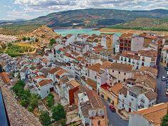 The village of Iznajar