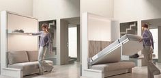 Nuovoliola wall bed - High on style, low on space!
