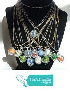 Marble Pendant Ball Chain Necklaces from DonkeyandtheUnicorn http://www.amazon.com/dp/B016WYZZYI/ref=hnd_sw_r_pi_awdo_nfluwb0NAP9GK #handmadeatamazon