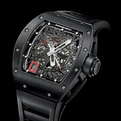 Richard Mille RM 030 Black Out Limited to 30 pieces, the watch retails for $95,000.