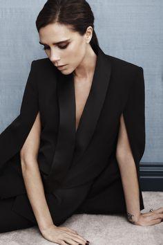 Victoria Beckham - Josh Olins Photoshoot for Vogue China August 2013. #taste #refined