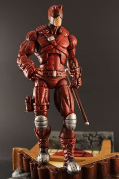 Ultimate Daredevil (Marvel) Custom Action Figure