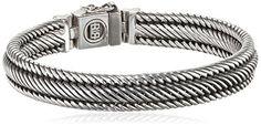 Buddha to Buddha J155 Edwin X-Small Silver Bracelet of Length 21cm  Price Β£205