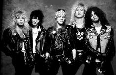 Steven Adler  Izzy Stradlin  Axl Rose  Duff McKagan  Slash